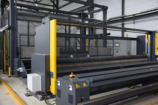 Производство базальтовой сетки 0