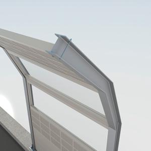 модель шумозащитного экрана
